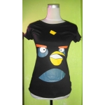 angry birds cartoon character shirts for ladies